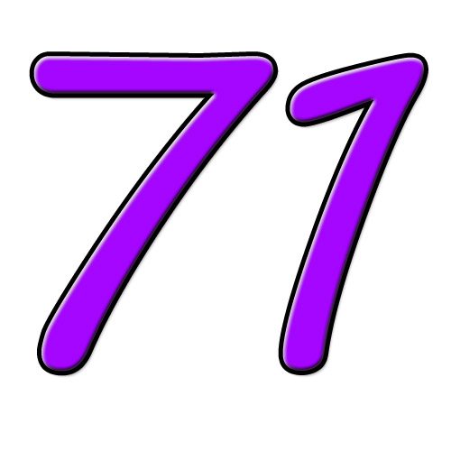 71 setenta e um / einundsiebzig